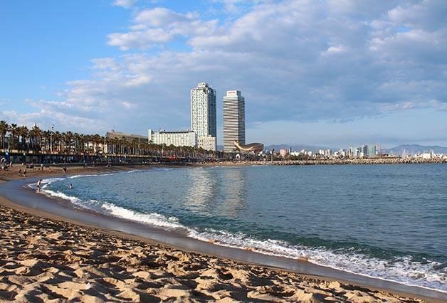 plage de la Barceloneta activités gratuites