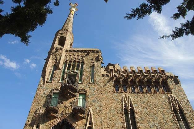 torre Bellesguard: édifice