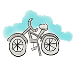 dessin vélo