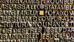 """Barcelone insolite: le """"sudoku""""de la Sagrada familia"""