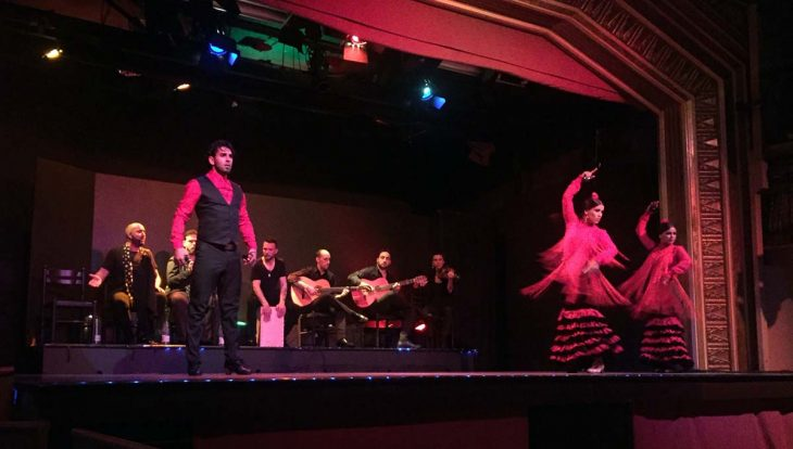 Spectacle au Palacio del Flamenco