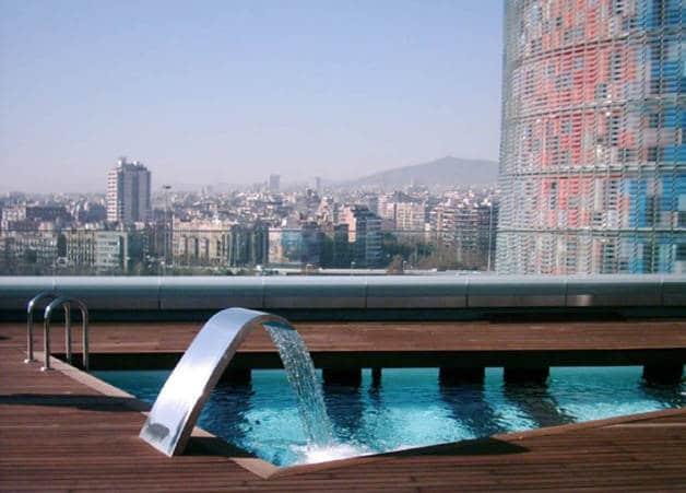 Hotel Silken Diagonal Barcelona Spain design