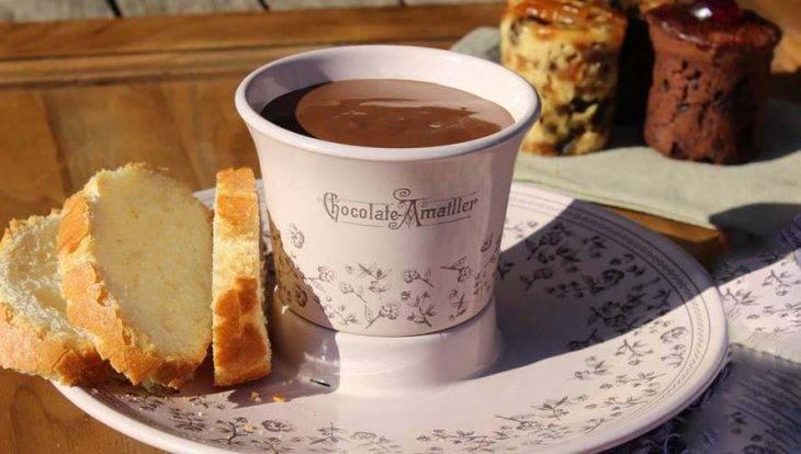chocolat chaud de la casa Amatller