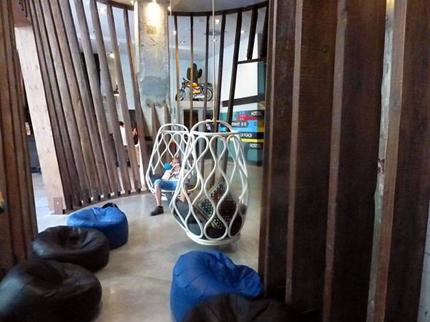 generator hall de l'hôtel design