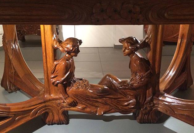 musée du modernisme catalan-meuble