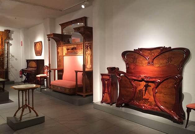 musee-du-modernisme- catalan mobilier