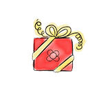 paquet cadeau dessin