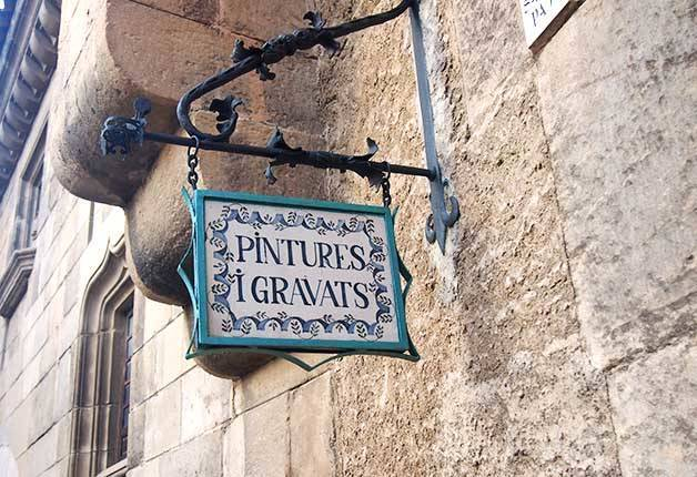 poble espanyol: peintures et gravures