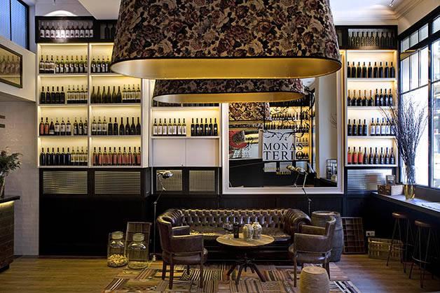 praktik vinoteca intérieur