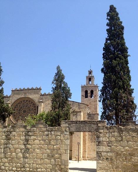 sant cugat monastère excursion Barcelone