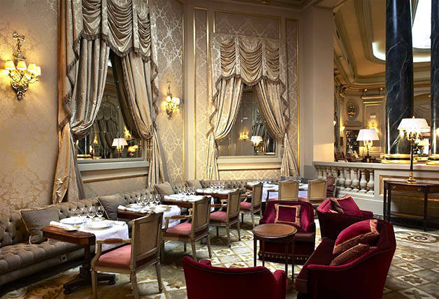 salle du restaurant Caelis