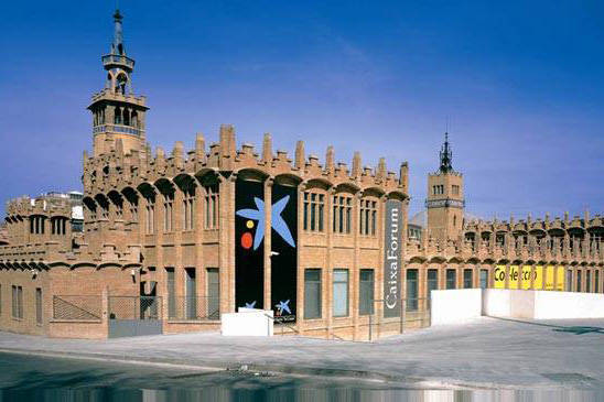 caixaforum barcelona au pied de Montjuic