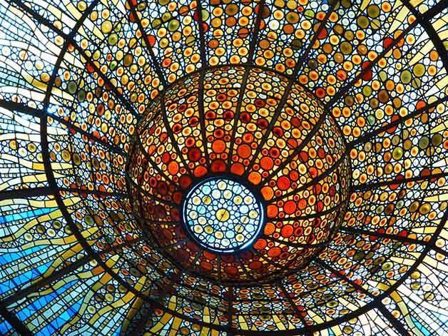 palau de la musica architecture à Barcelone