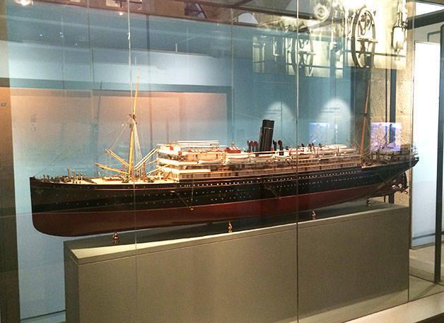 maquette musée maritime