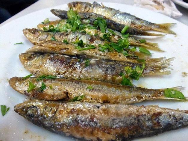 sardines de la cova fumada
