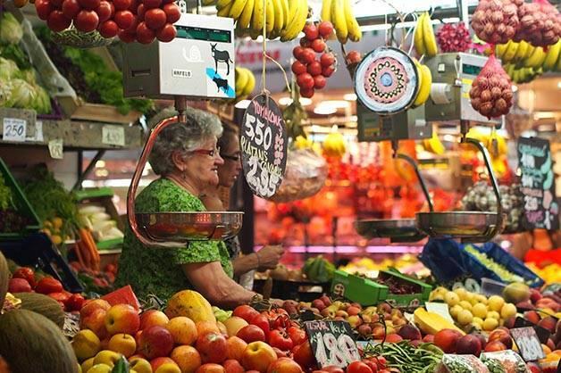 Barcelone comme un local: aller au marché