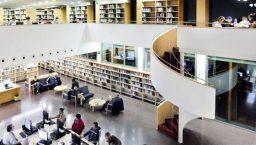 carte des bibliothèques à Barcelone