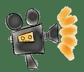 dessin d'une caméra