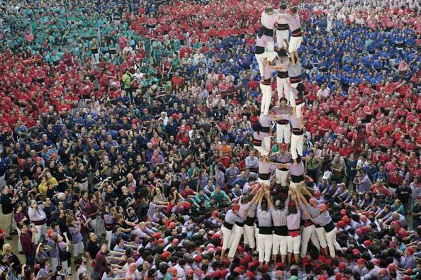 castells Barcelone comme un local