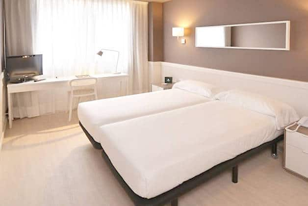 chambre double hôtel Para·lel