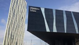 museu blau; musée des sciences naturelles de Barcelone