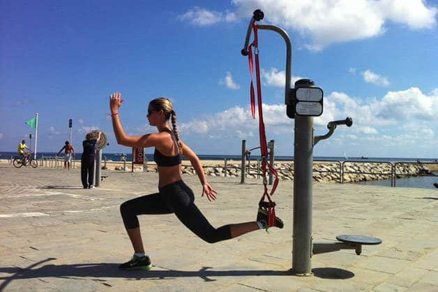 sport plage barcelone