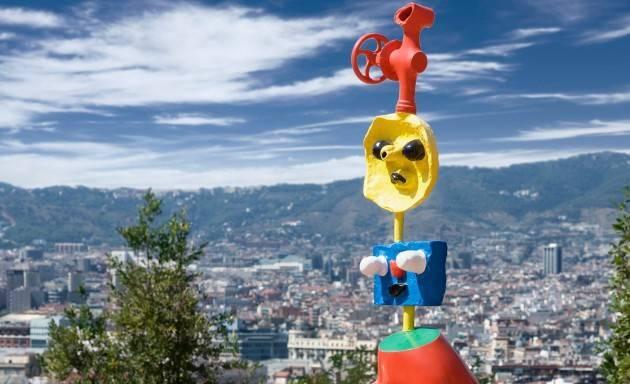 Montjuïc et la Fondation Miró