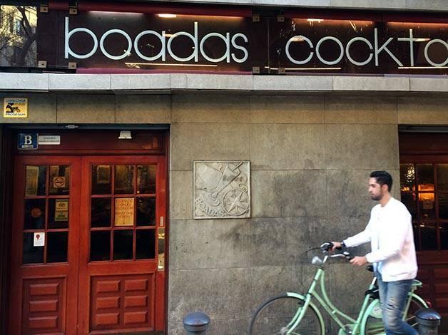 bar authentique: bar Boadas