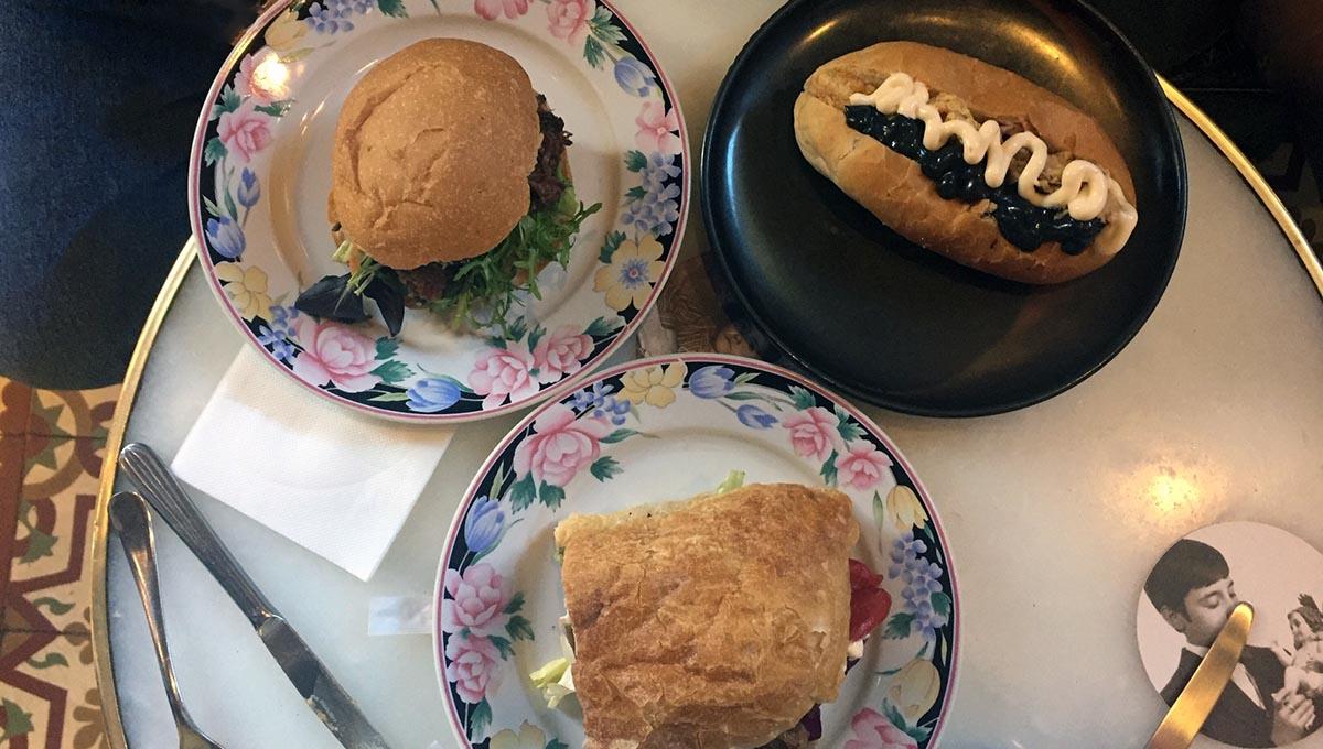 3 sandwiches à Entrepanes Diaz