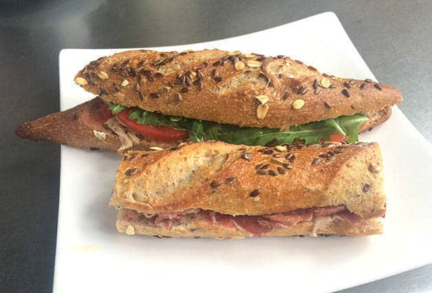 sandwich chez hansel
