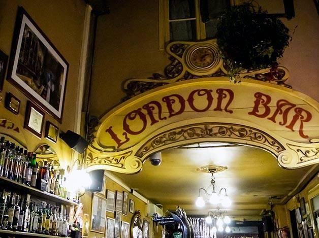 london bar intérieur
