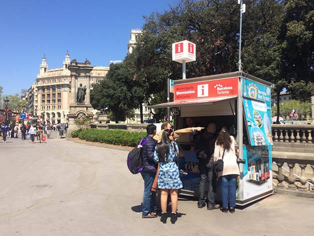 office de tourisme plaça catalunya
