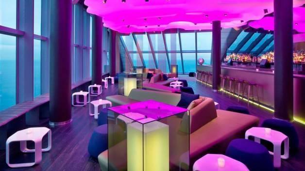 hôtel W bar