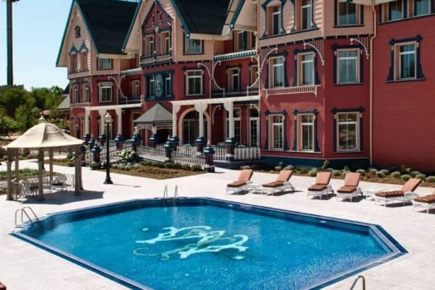 hôtels Port Aventura Gold River piscine