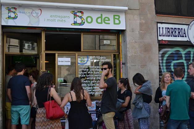 Facade Bo de B (c) Lea Lourmiere sandwichs