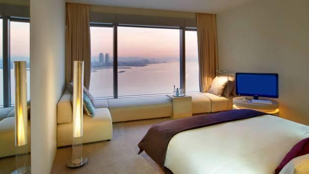 Hotel W vue mer et ville