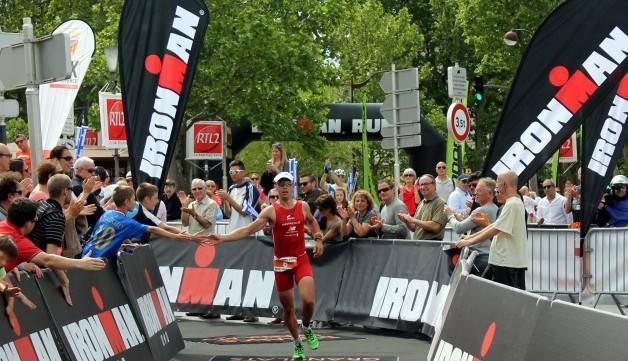 course Ironman Barcelone