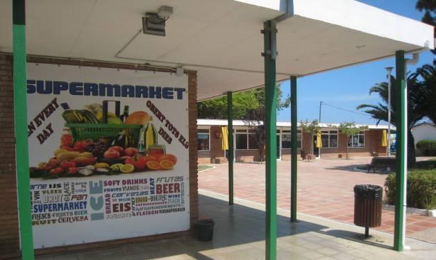 camping barcelone Gava supermarché