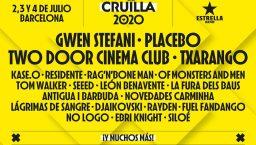 affiche festival cruilla 2020