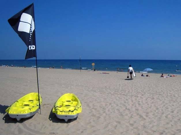 camping Barcelone Gava plage