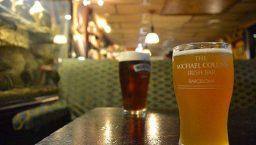 Une bonne bière au Michael Collins