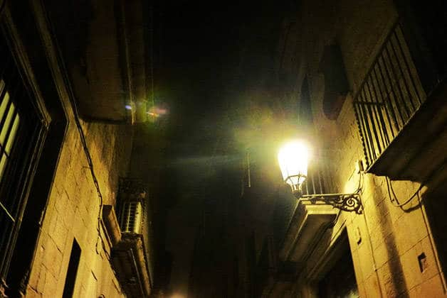 Ghost Walking Tour rues obscures