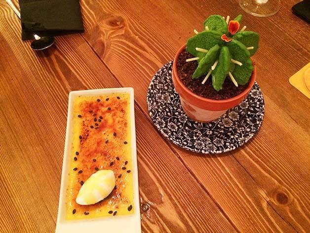 cactus et crème catalane agust