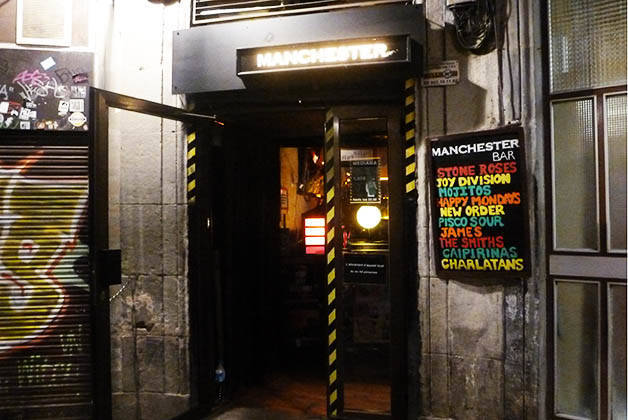 bars rock manchester