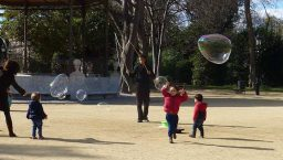 Barcelone avec des enfants parc de la ciutadella