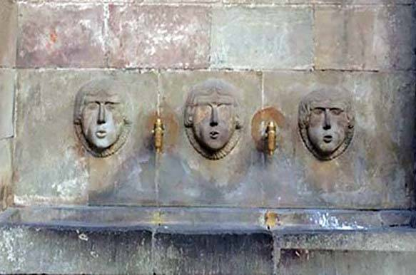 découvrir Barcelone-fontaine