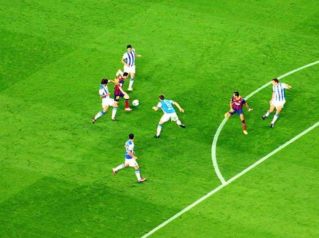 match de foot du Barça