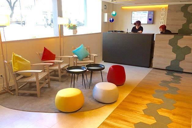 hôtel ibis style centre barcelone réception et hall d'entrée