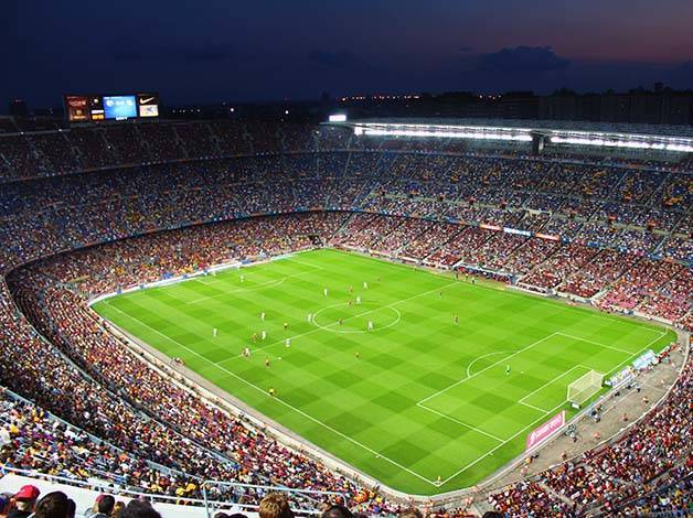 match du Barça stade du Camp Nou