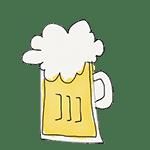 dessin chope de bière